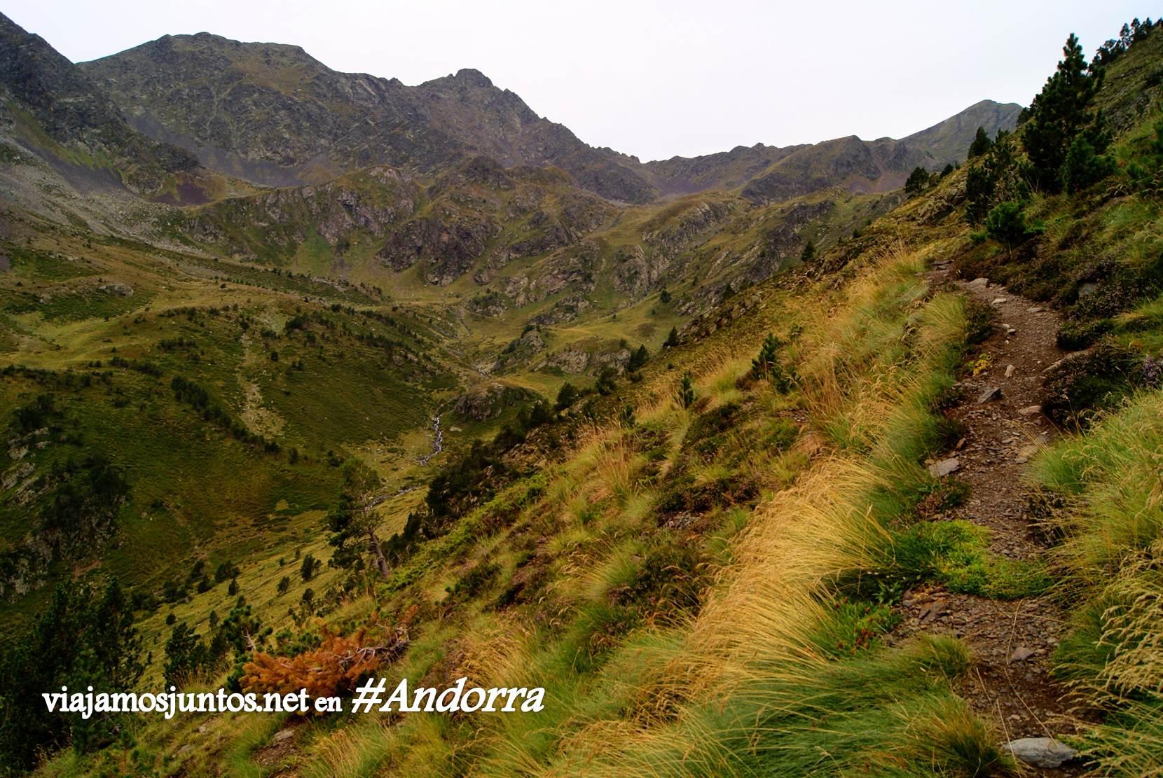 Pendientes empinados de GRP de Andorra
