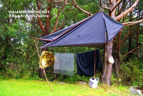 Camping en Noruega