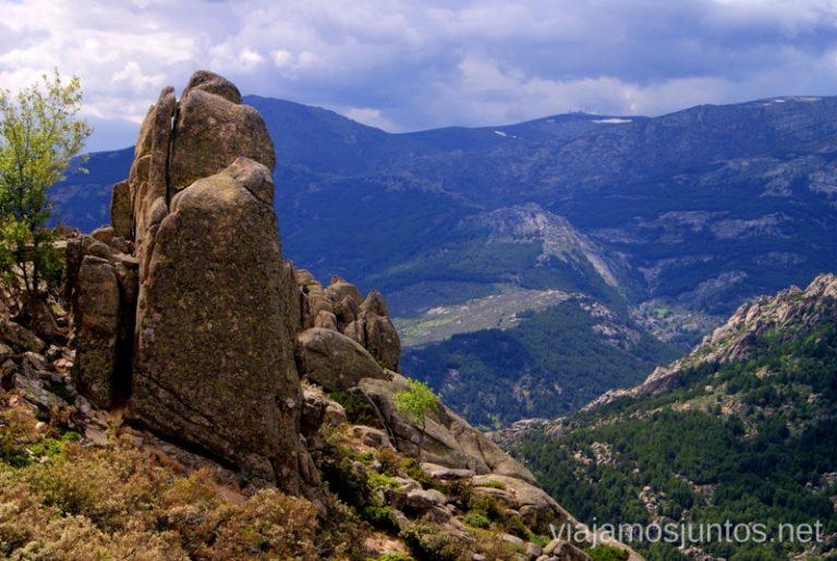 Vistas de la Pedriza Parque de la Cuenca Alta del Manzanares y Manzanares el Real, Madrid