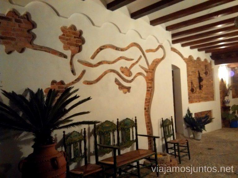 Hotel rural 5 ranas Donde comer y alojarse en el Valle de Alcudia, Edén de la Mancha, Castilla la Mancha