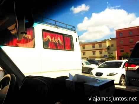 Minibuses con encanto #MarruecosJuntos Como es ser taxista en Marruecas