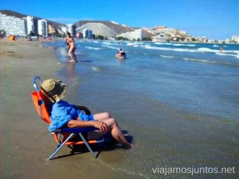 Disfrutando sin preocuparse por nada... #ViajarConSuegra por el Sur de España, playas, mar, beach