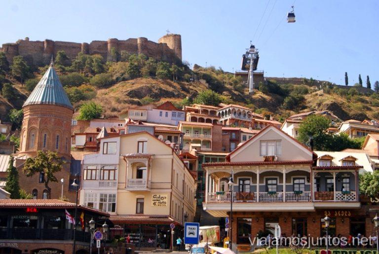 Tbilisi (Tiflis), Georgia Itinerario de viaje por Georgia. 17 días. Gran Cáucaso Parte II Tbilisi Tiflis Kutaisi Vardzia Batumi la Playa Costa