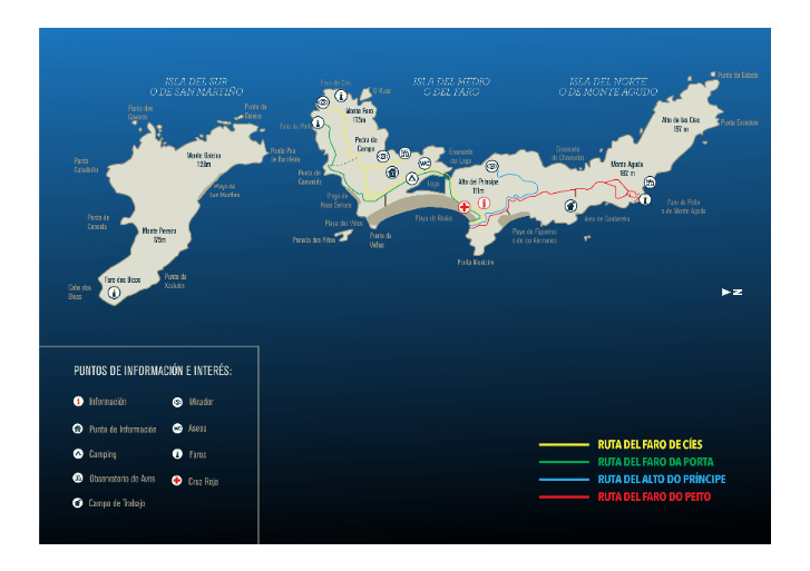 mapa islas