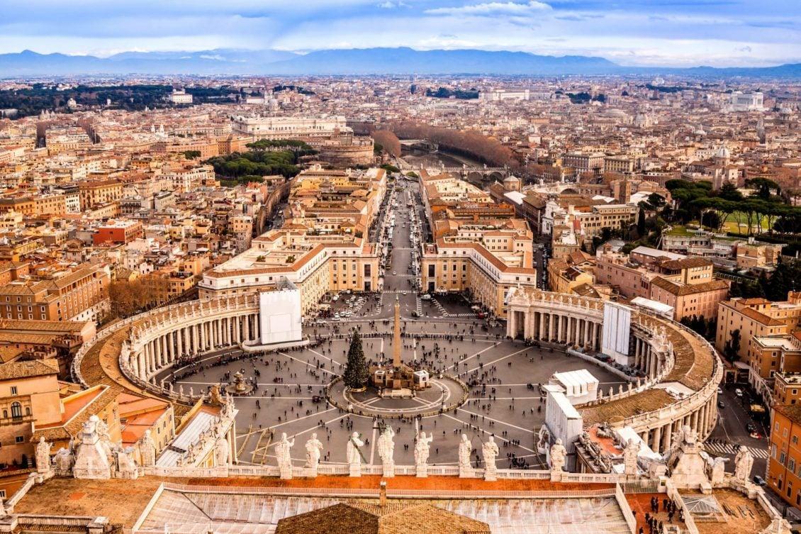 Turismo religioso em Roma?