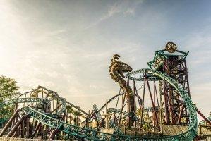 Busch Gardens – Atrações