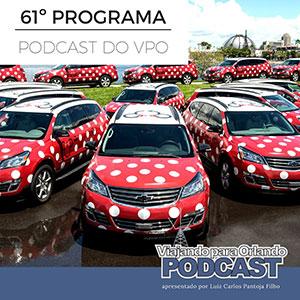 Viajando para Orlando – Podcast – 61