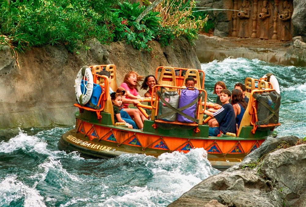 A Disney está testando a opção Single Rider na atração Kali River Rapids