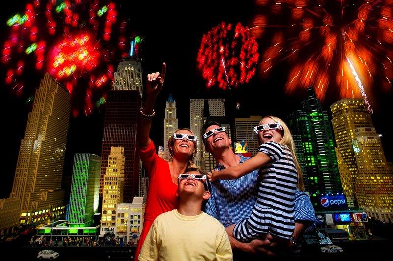 Red, Brick and Boom – comemoração do 04 de julho no LEGOLAND® Florida