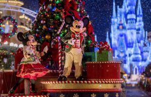 As festividades de fim de ano terão início no dia 08 de novembro no Walt Disney World Resort