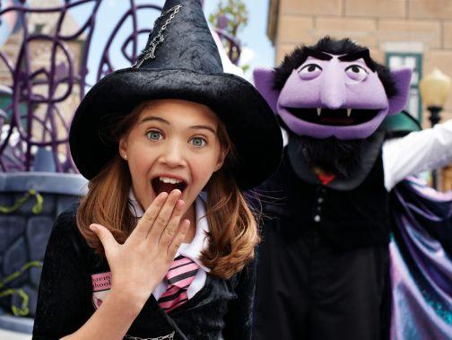 Halloween Sooktacular - SeaWorld Orlando - Count von Count 1