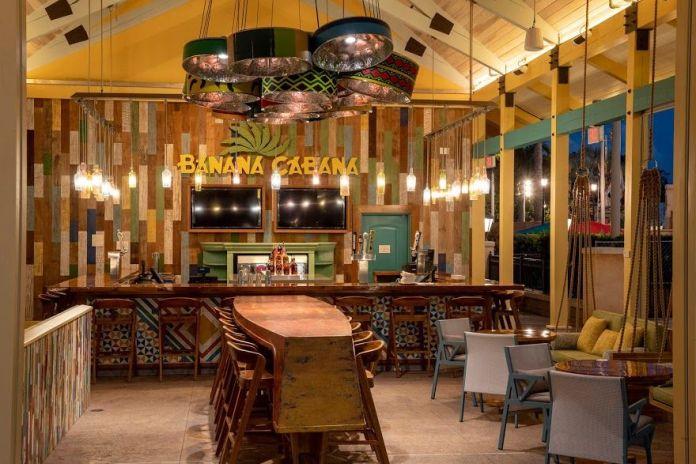 Banana Cabana Pool Bar - Disney's Caribbean Beach Resort