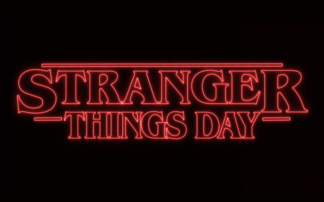 Universal anuncia o #StrangerThingsDay