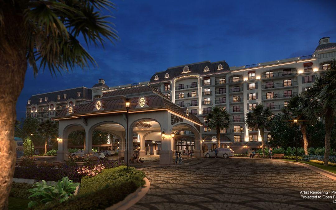 O Disney's Riviera Resort já está aceitando reservas