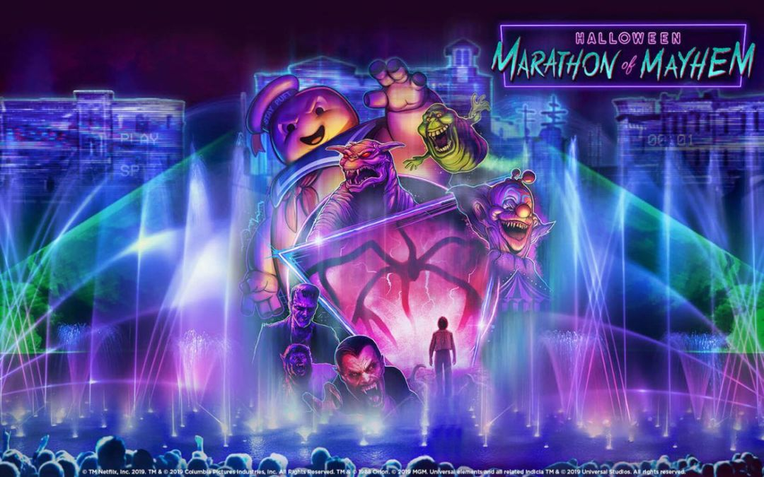 Halloween Marathon of Mayhem é o novo show noturno do Universal Studios Florida
