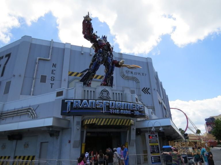 TRANSFORMERS The Ride-3D