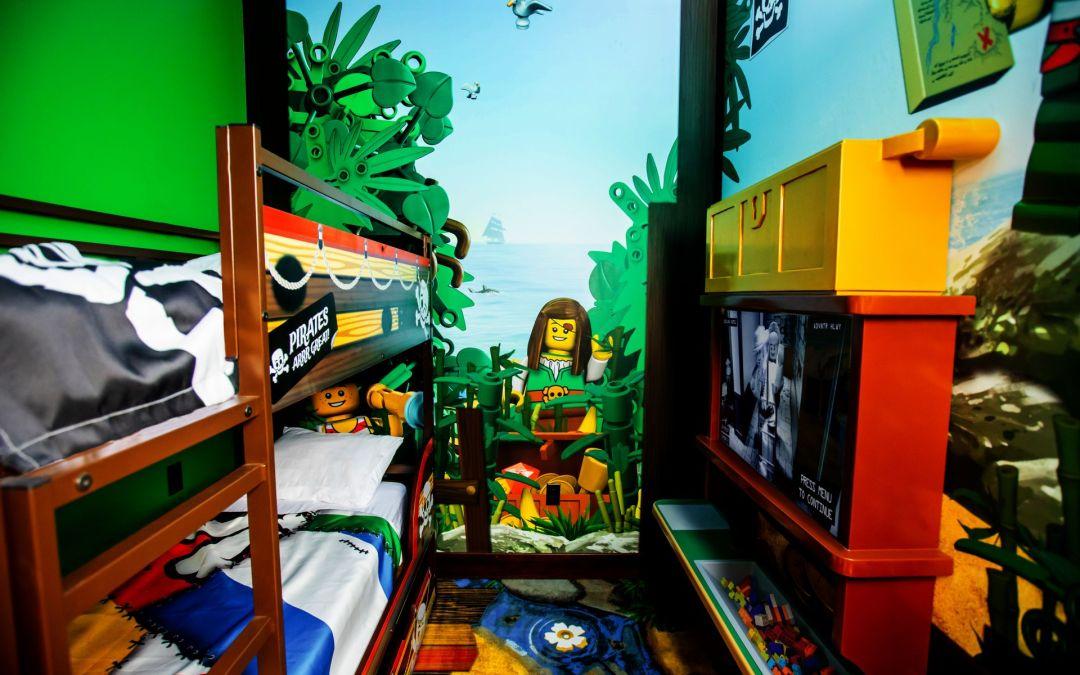 O novo LEGOLAND Pirate Island Hotel será inaugurado no dia 17 de abril de 2020