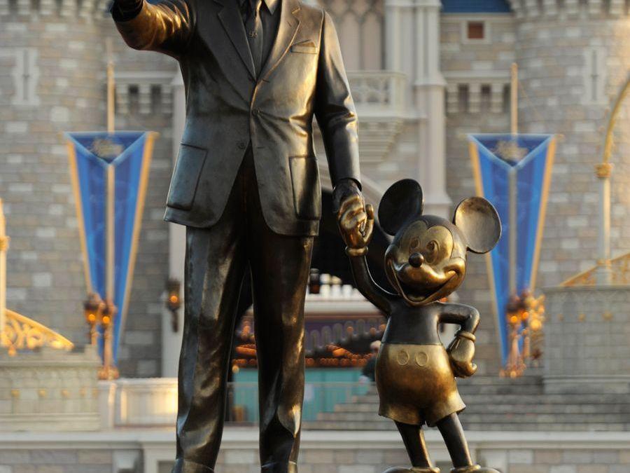 Criações e homenagens para Walt Disney no complexo Walt Disney World Resort
