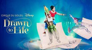 """""""Drawn to Life"""" pode estrear no outono apesar do pedido de recuperação judicial do Cirque du Soleil"""