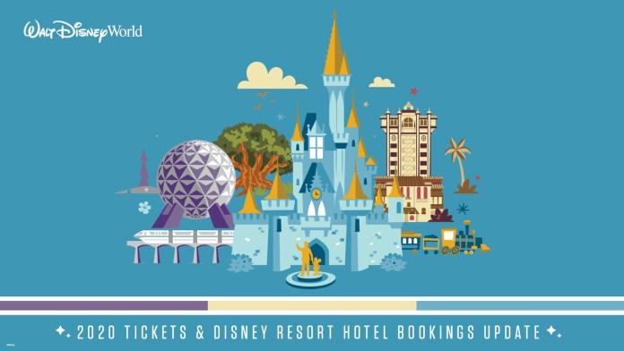 Walt Disney World: 2020 Tickets & Disney Resort Hotel Bookings Update