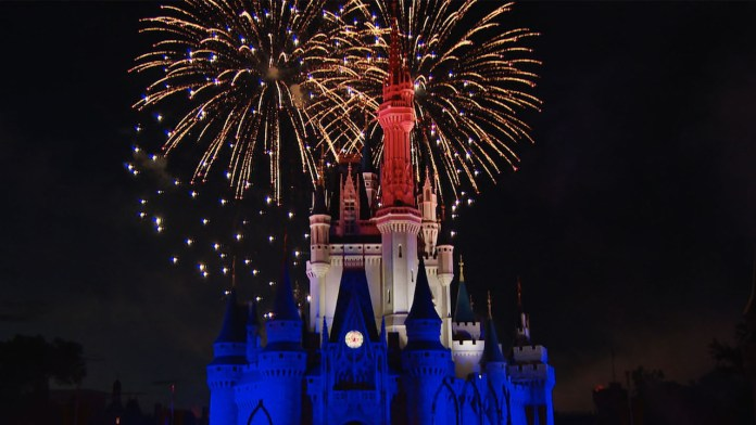 Fourth of July Fireworks at Walt Disney World Resort