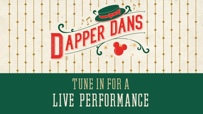 The Dapper Dans Holiday performance graphic