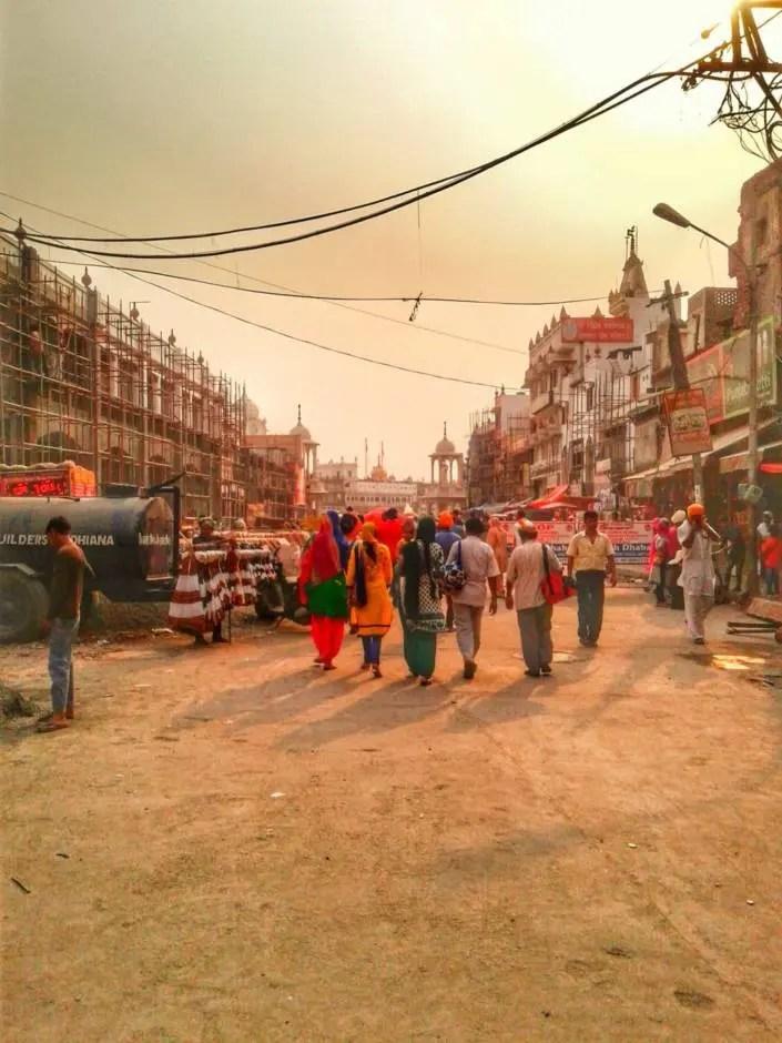 Atardecer en Amritsar, India