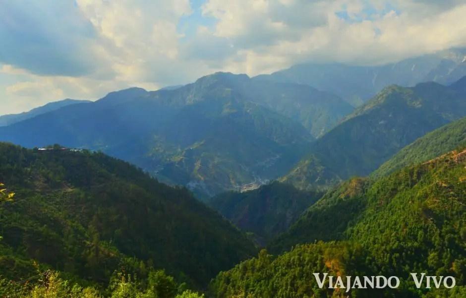 A las afueras de Dharamsala