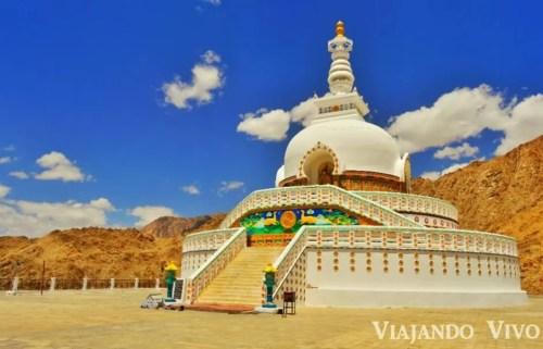La Shanti Stupa en Leh