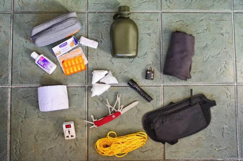 Cosas que no pueden faltar en la mochila
