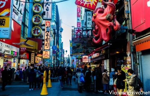 Pulpo gigante en Osaka