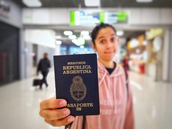 Celeste en el aeropuerto de Odesa