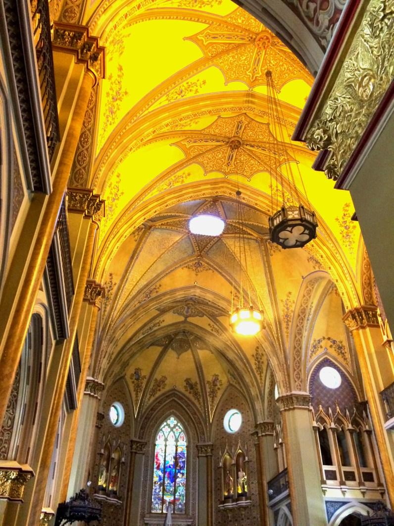 Interior da Catedral Basílica Nossa Senhora da Luz