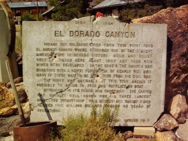 El Dourado Canyon