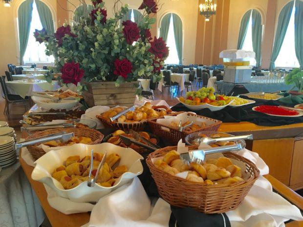 Café da Manhã do Tauá Grande Hotel e Termas de Araxá