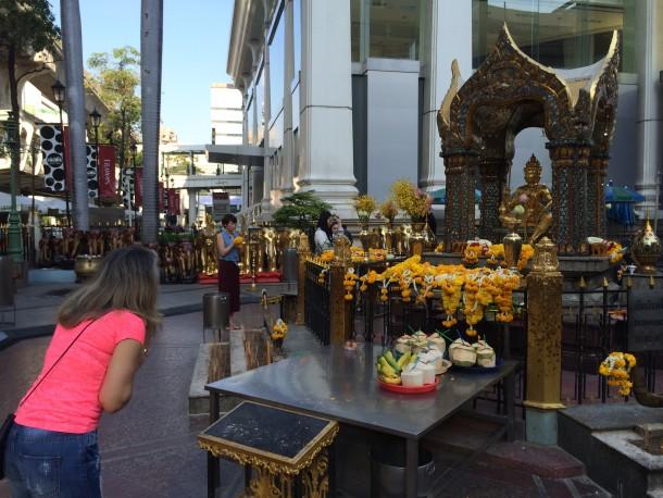 Templo no Centro de Bangkok - Dicas de Bangkok
