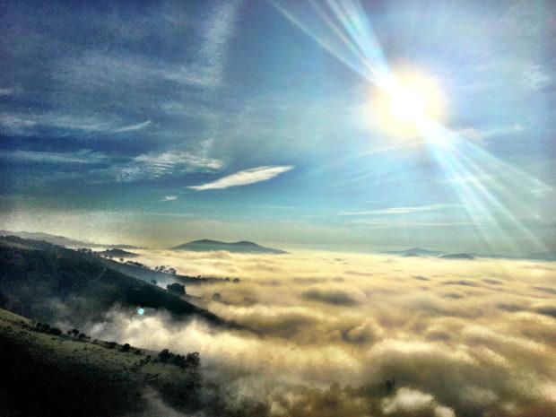 O céu de São Lourenço