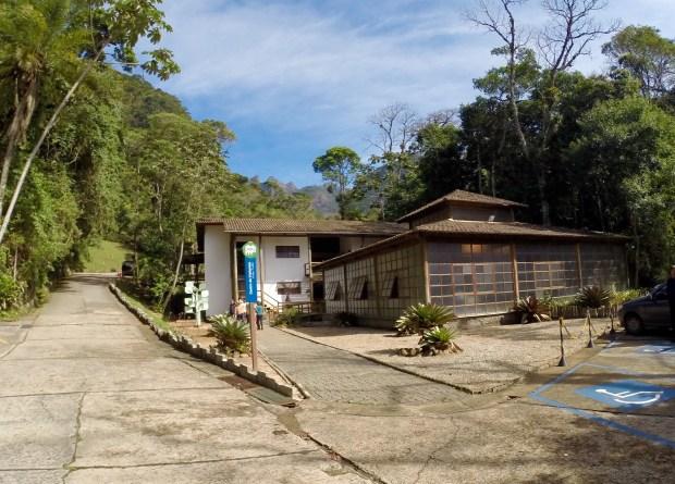 Recepção do Parque Nacional Serra dos Órgãos
