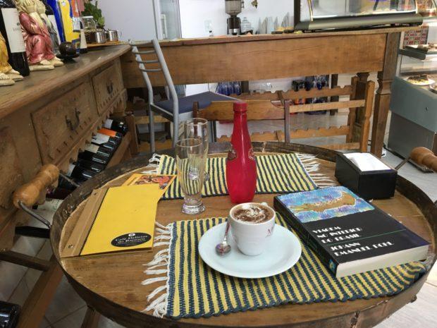 Chocolate Quente do Café Delícias do Barroco