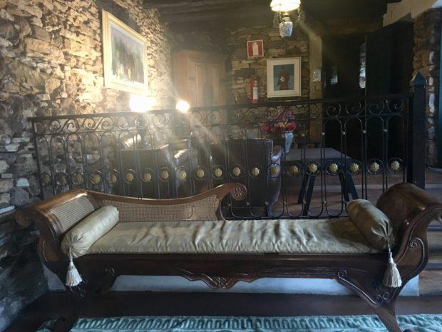 Interior do Hotel Luxor