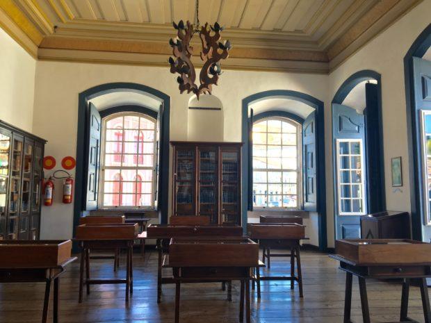 Interior da Casa dos Contos