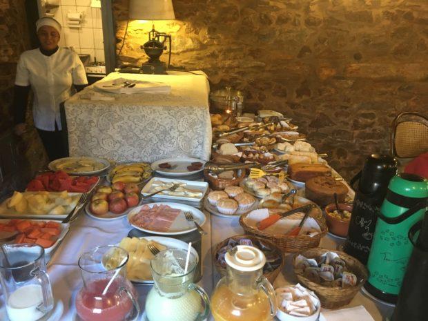 Café da Manhã do Hotel Luxo