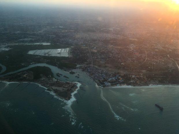 Chegando em Zanzibar
