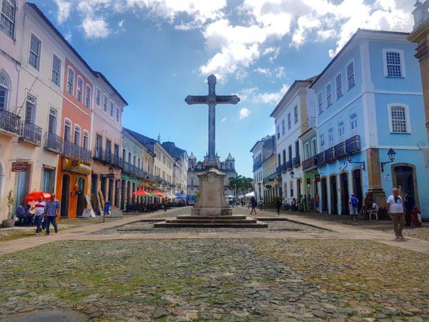 Praça do Cruzeiro de São Francisco em Salvador