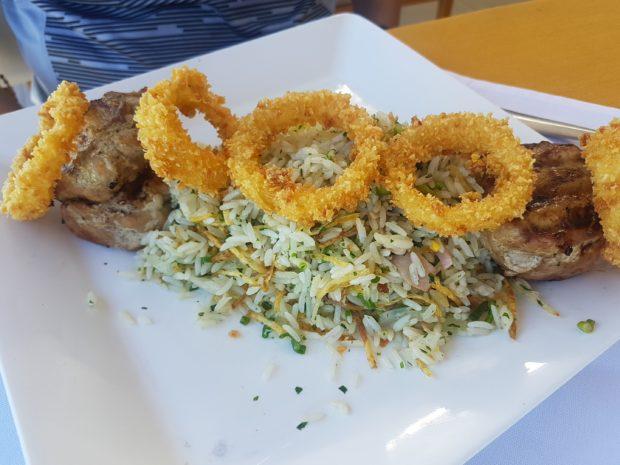 Carne Suína Grelhada do Restaurante Barravento em Salvador