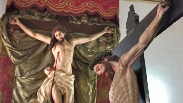 Cristo crucificado que fica na igreja de Ordem Terceira de São Francisco