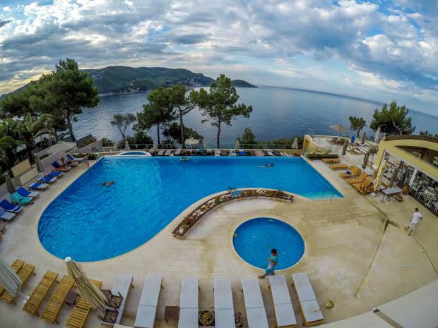 Akrotiri Beach nosso segundo hotel em Corfu