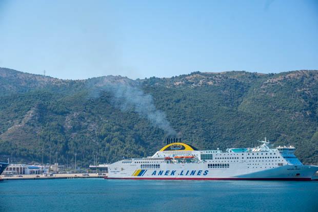Navio- Ilhas Jônicas - Grécia