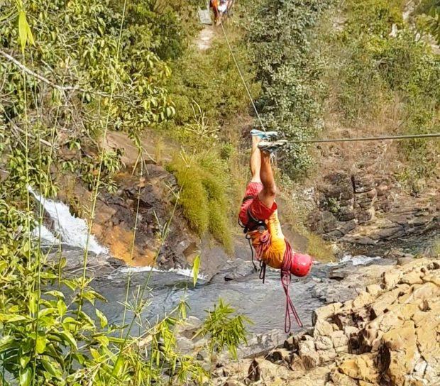 Tirolesa Salto Corumbá - Goiás