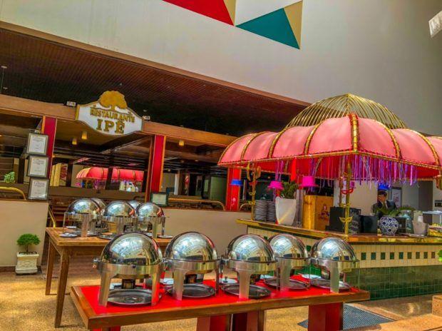 Restaurante Ipê do Castro's Hotel em Goiânia